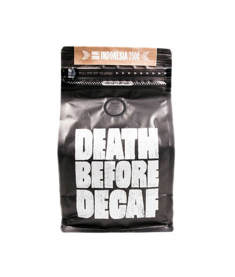 Death Before Decaf Indonesia