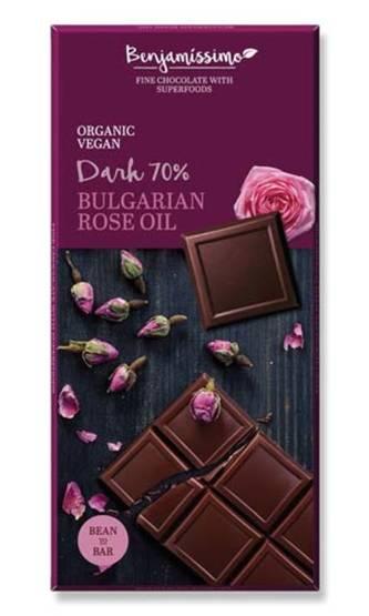 Benjamissimo tumma suklaa ruusu