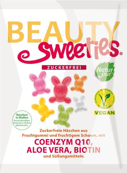 Beauty Sweeties sokerittomat puput