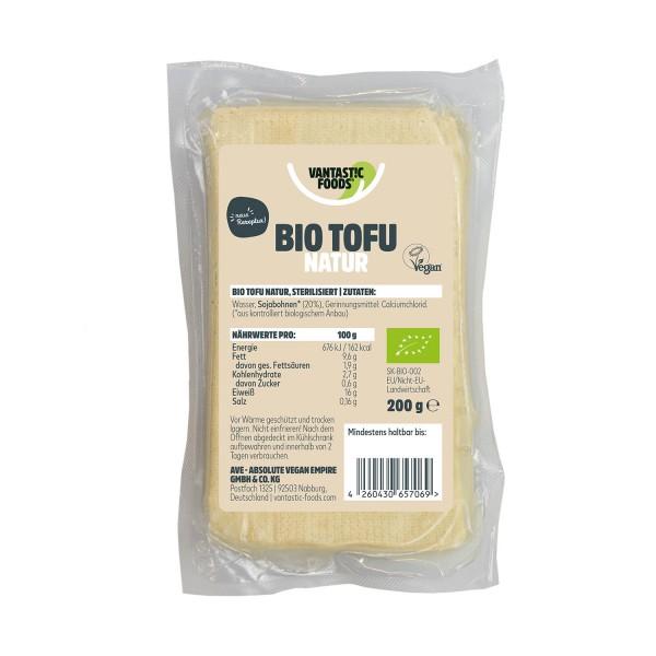 Vantastic Foods tofu maustamaton
