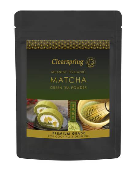 Clearspring Premium Grade matchajauhe