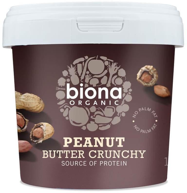 Biona maapähkinävoi crunchy & salted