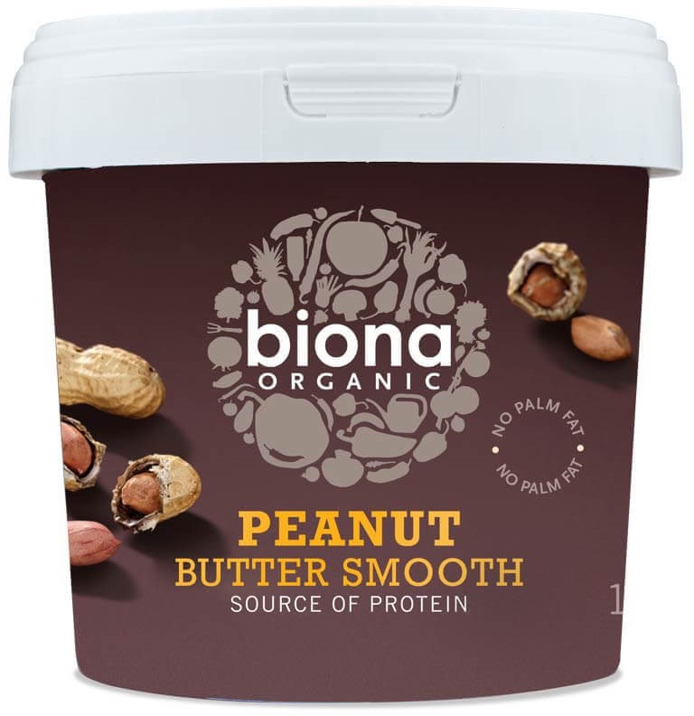 Biona maapähkinävoi smooth & unsalted
