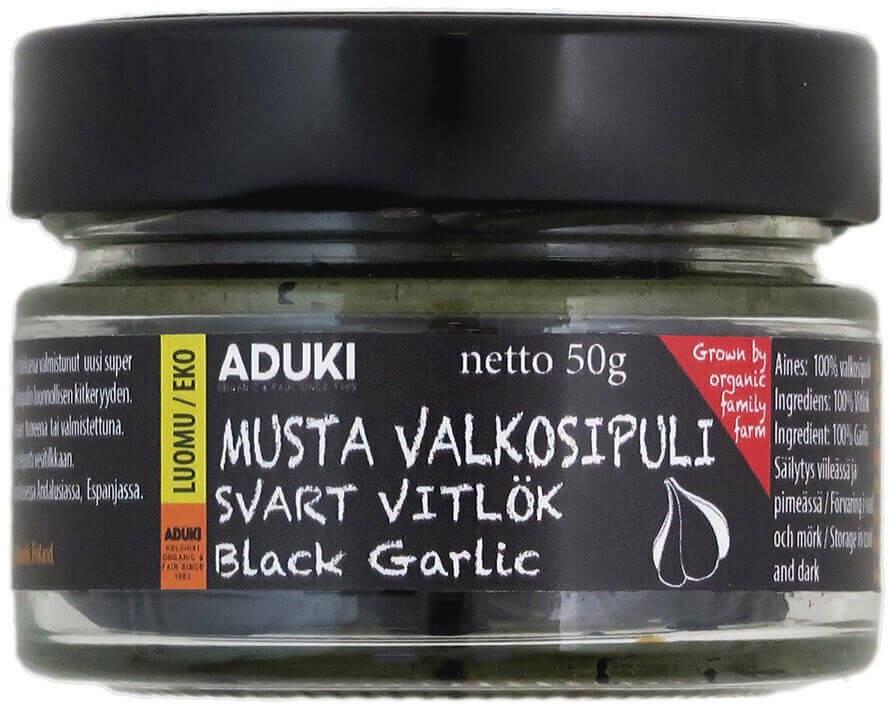 Aduki musta valkosipuli
