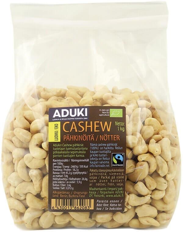 Aduki cashewpähkinä 1 kg