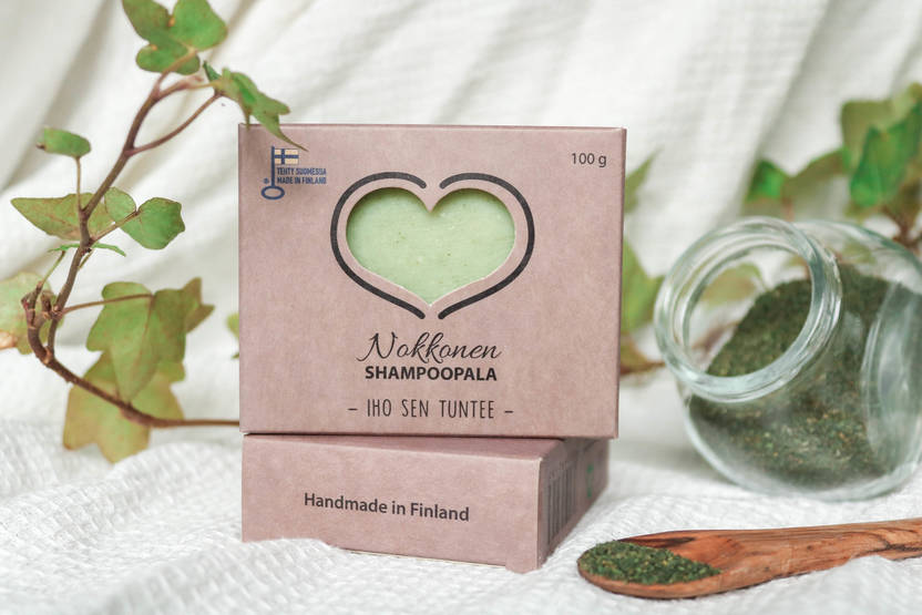 Catteco shampoopala nokkonen