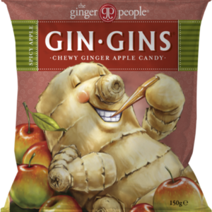 Gin Gins inkiväärikaramelli omena
