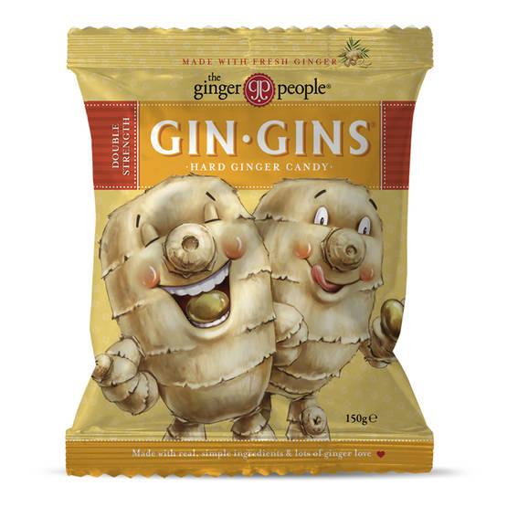 Gin Gins kova inkiväärikaramelli