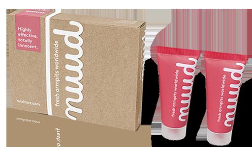 Nuud anti-odorant 2-pack