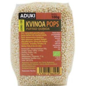 Aduki kvinoapops