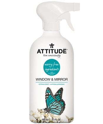Attitude lasinpesusuihke