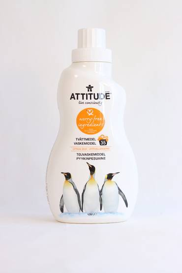 Attitude pyykinpesuaine Citrus Zest