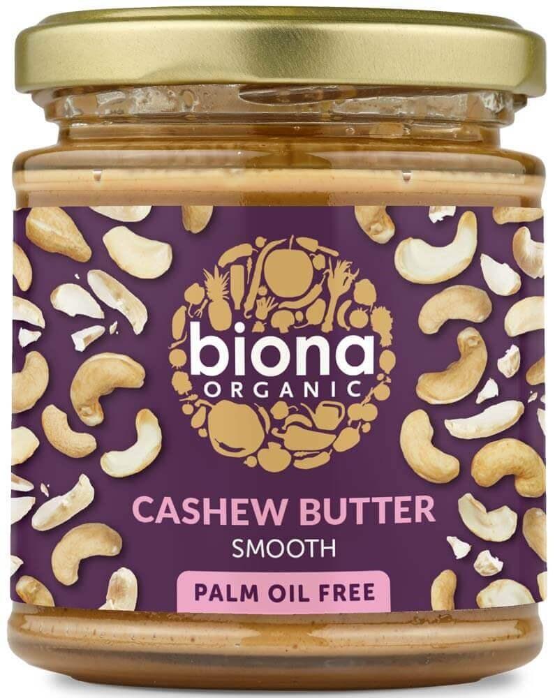 Biona cashewpähkinävoi smooth