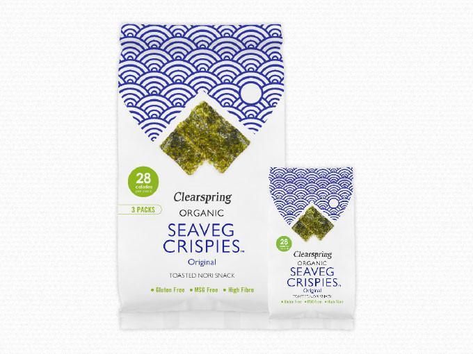 Clearspring Seaveg Crispies multipack