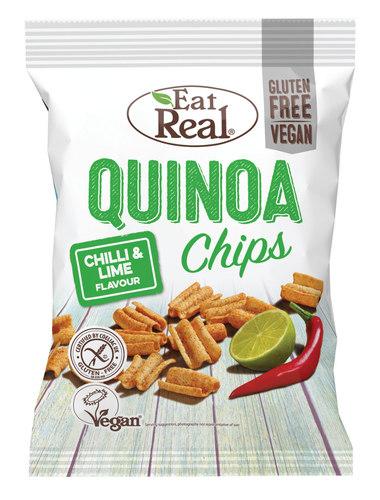 Eat Real kvinoasipsi chili & lime