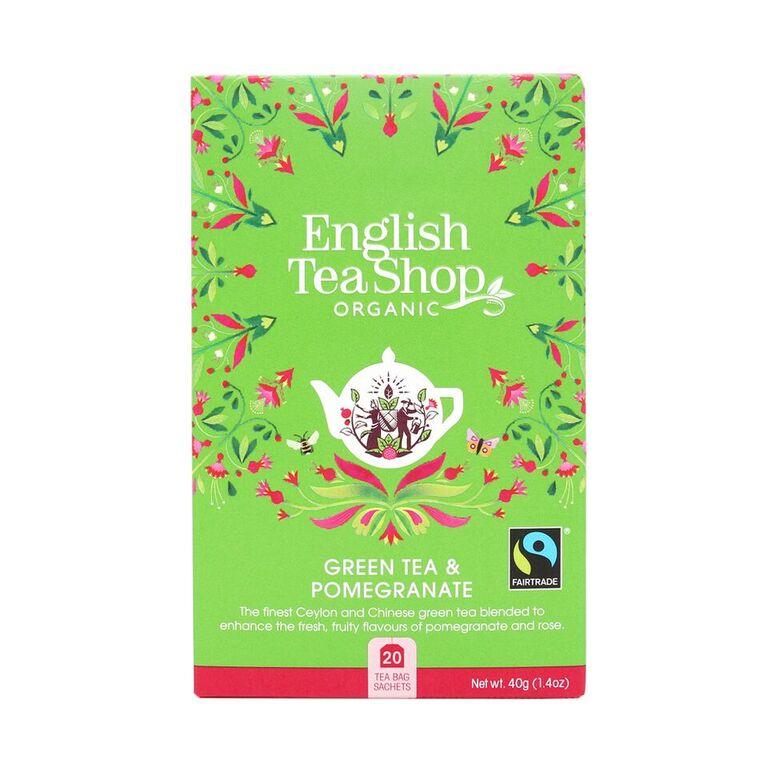 English Tea Shop Green Tea Pomegran
