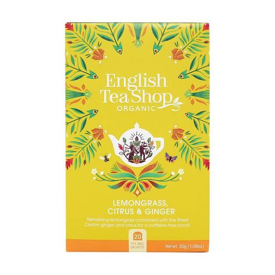 English Tea Shop Lemongrass Ginger
