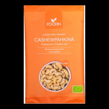 Foodin cashewpähkinä 200g