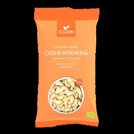 Foodin cashewpähkinä 500 g