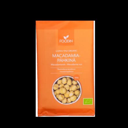 Foodin macadamiapähkinä 150 g