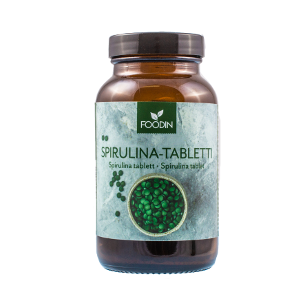 Foodin spirulina-tabletti 110g