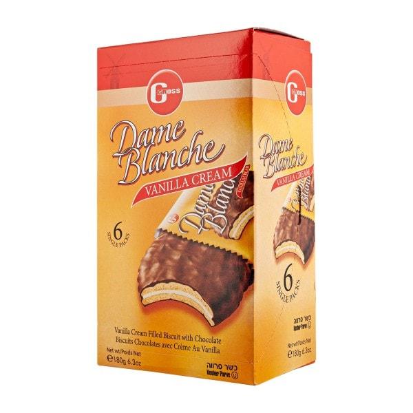 Gross Dame Blanche vaniljatäytekeksi