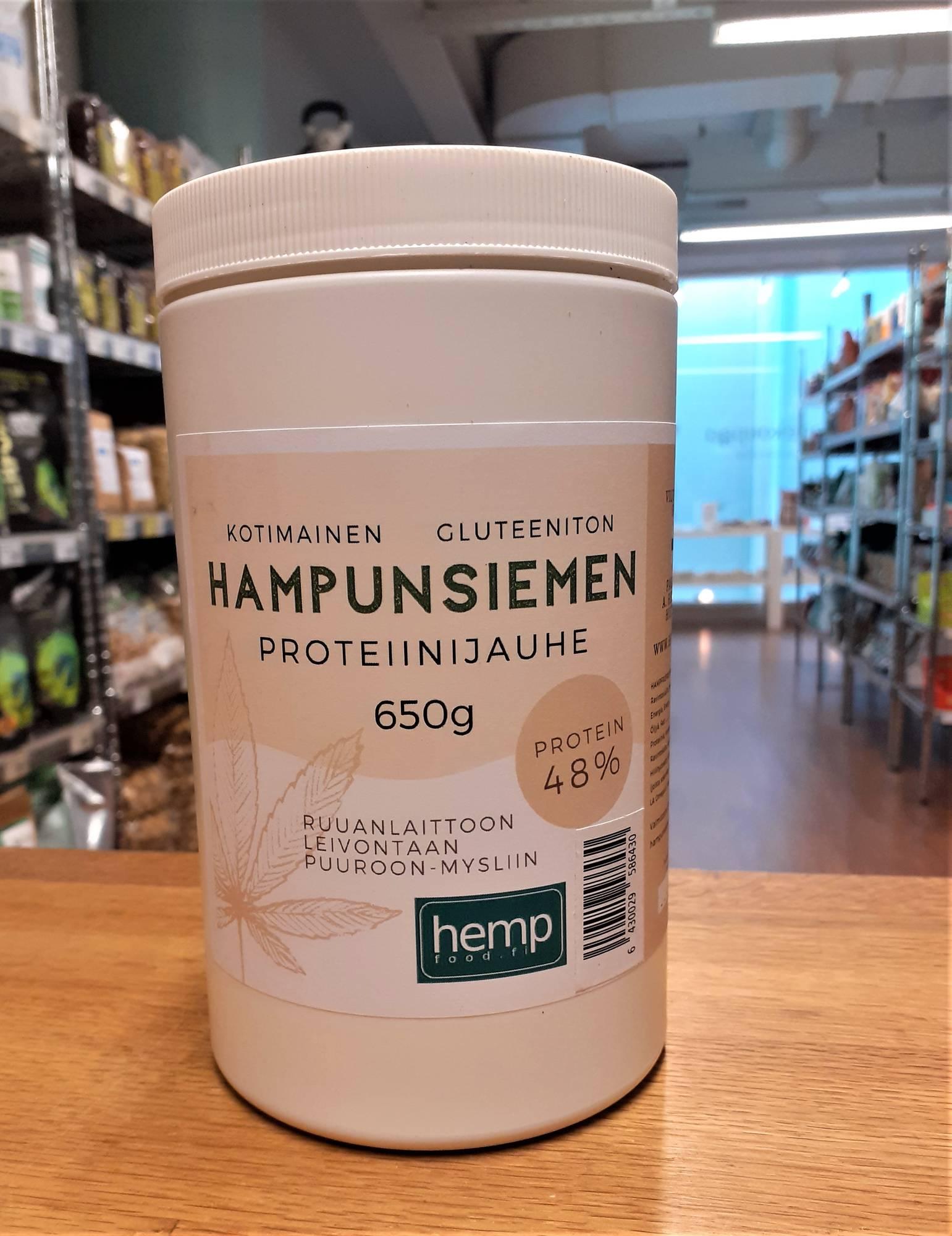 Hempfood hamppuproteiini 650 g