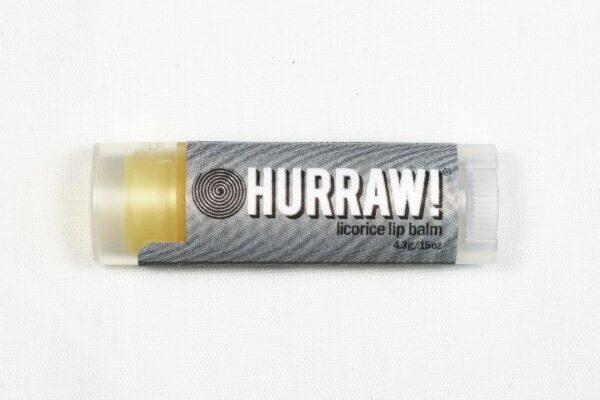 Hurraw huulivoide lakritsi