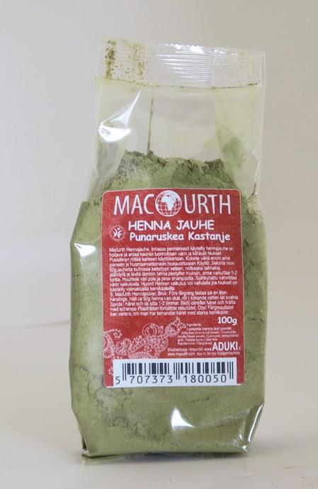 Macurth Henna punaruskea kastanja