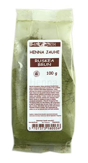 Macurth Henna ruskea