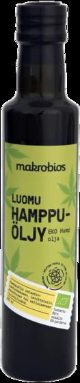 Makrobios hampunsiemenöljy