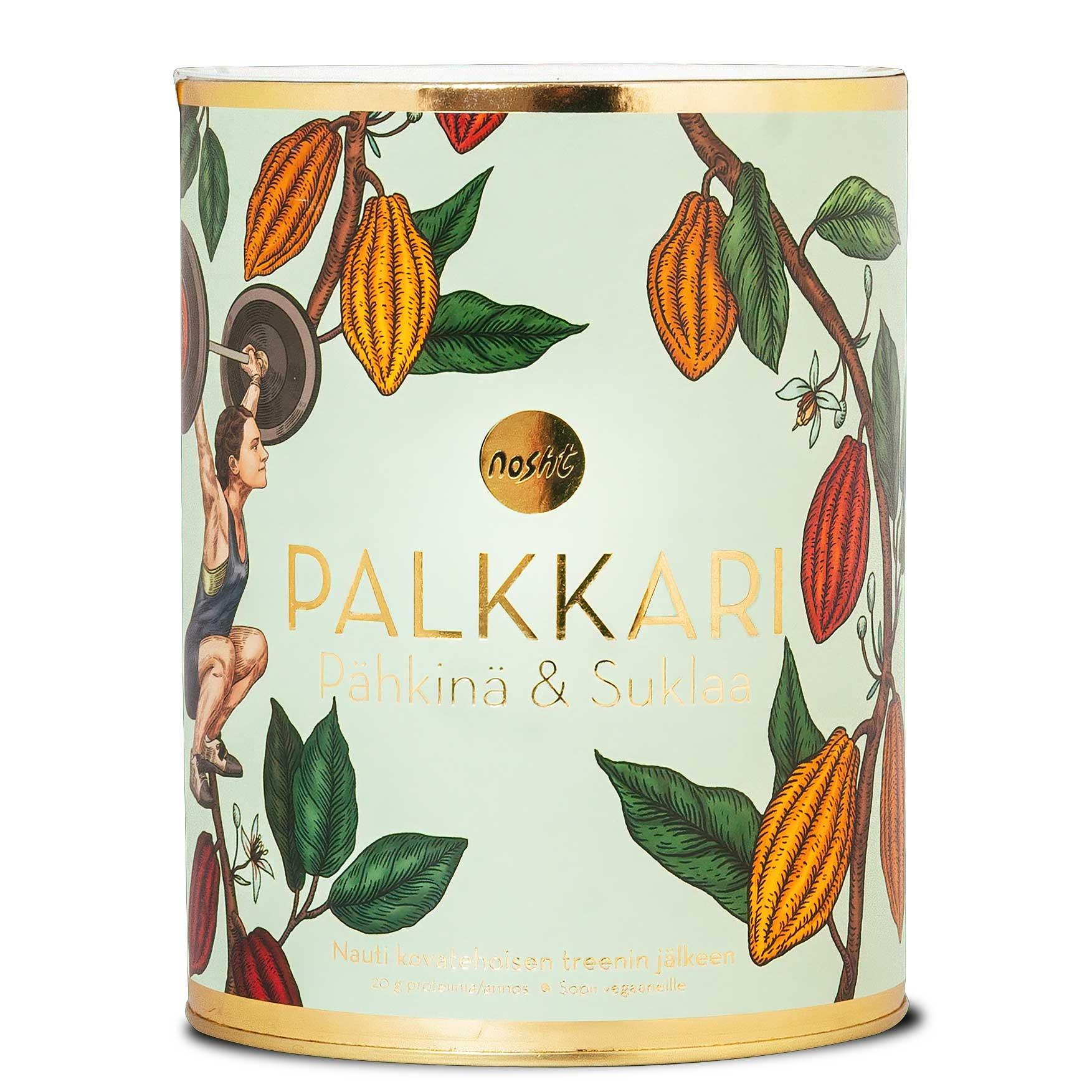 Nosht Palkkari pähkinä & suklaa