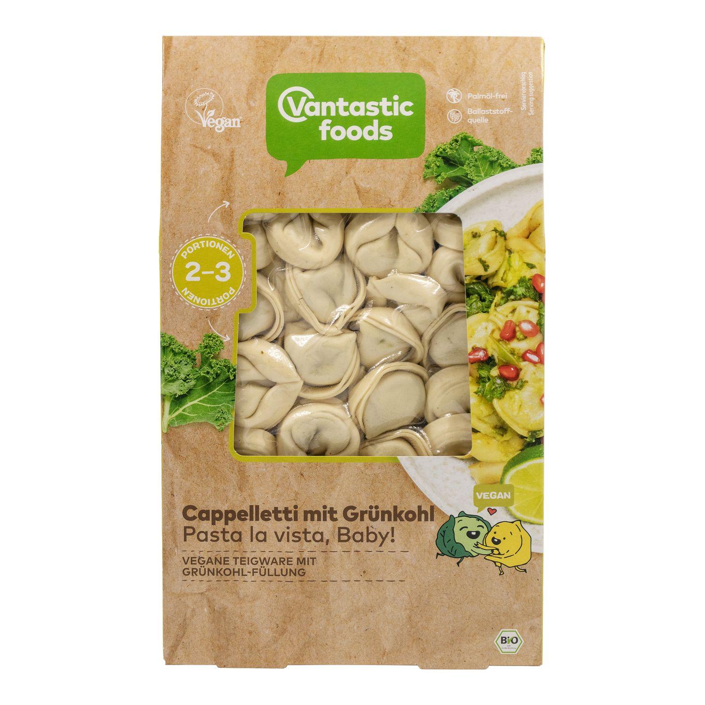 Vantastic Foods lehtikaalicappelletti