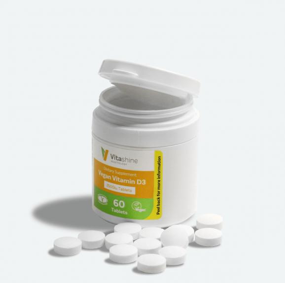 Vitashine D3-vitamiini 60 tabl.