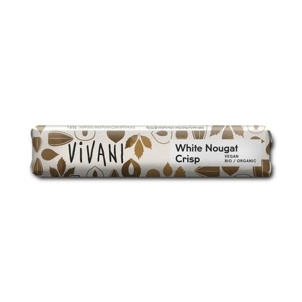 Vivani White Nougat Crisp -suklaapatukka