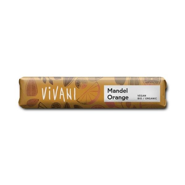 Vivani manteli-appelsiini suklaapatukka