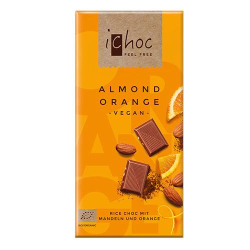 iChoc Almond Orange appelsiinisuklaa