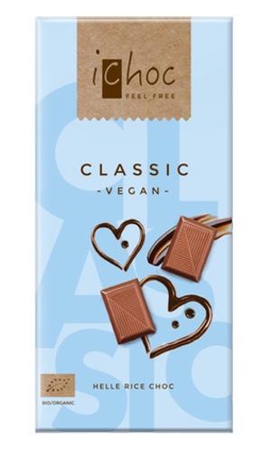 iChoc Classic vegaaninen maitosuklaa