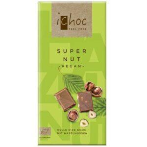iChoc Super Nut hasselpähkinäsuklaa